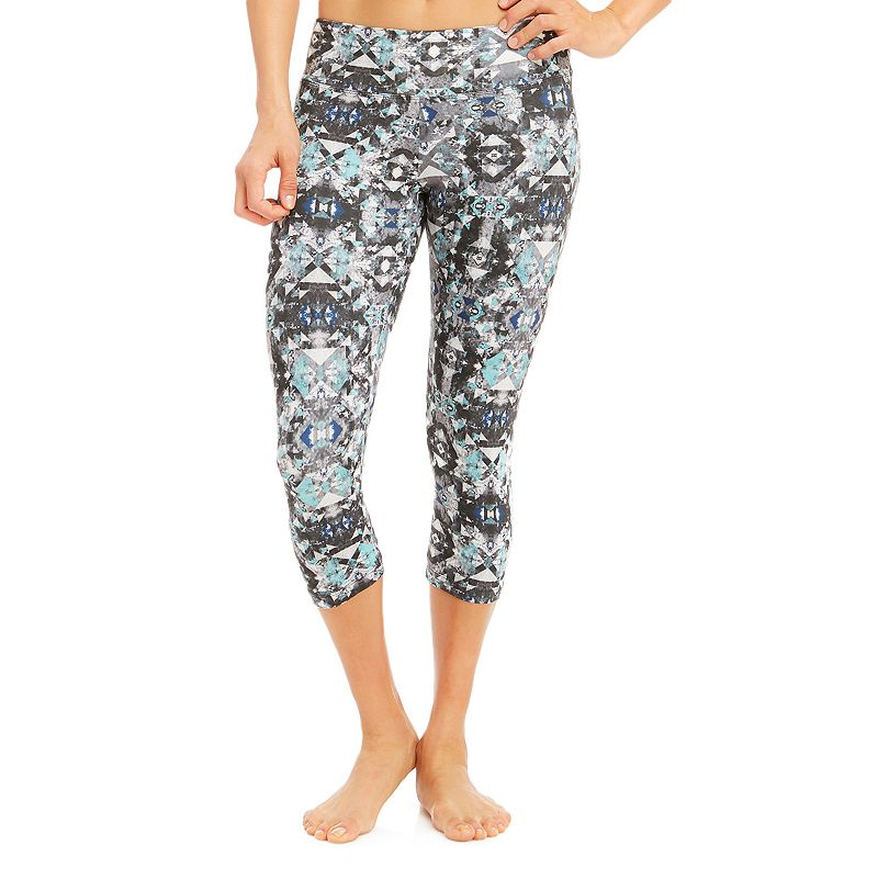 Women's Balance Collection Flat-Waist Capri Yoga Leggings