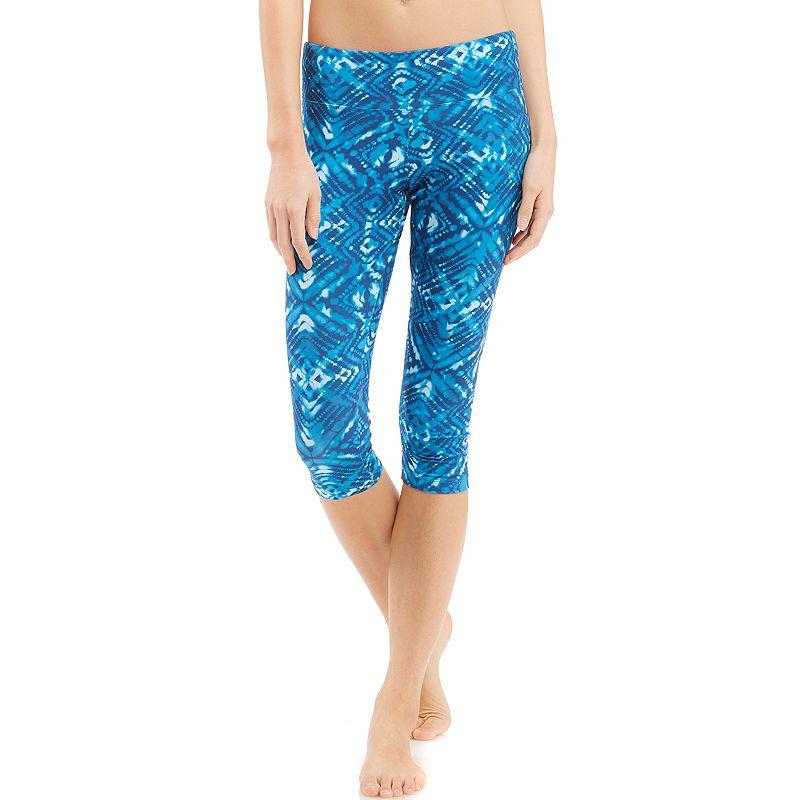 Women's Balance Collection Flat-Waist Capri Yoga Leggings