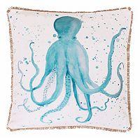 Thro by Marlo Lorenz Ozwald Octopus Throw Pillow