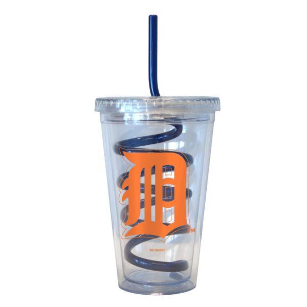 Boelter Detroit Tigers Swirl Straw Tumbler