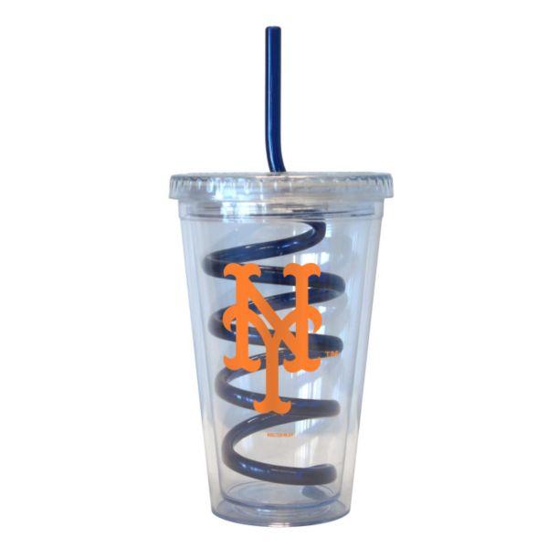 Boelter New York Mets Swirl Straw Tumbler