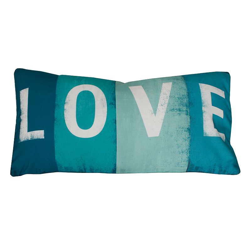 Thro by Marlo Lorenz ''Love'' Sign Throw Pillow