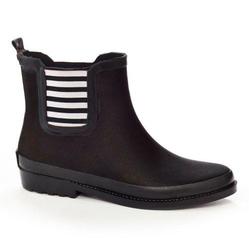 Henry Ferrera Ambience Women's Water-Resistant Ankle Rain Boots