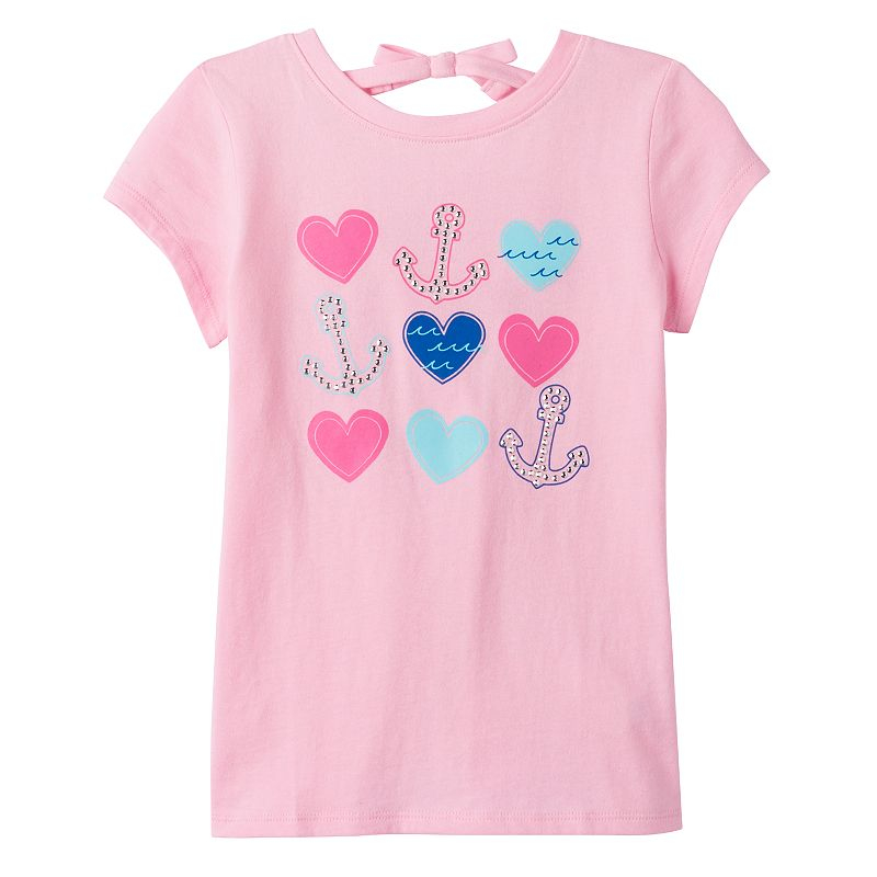 Girls 4-7 Jumping Beans® Rhinestone Graphic Tee