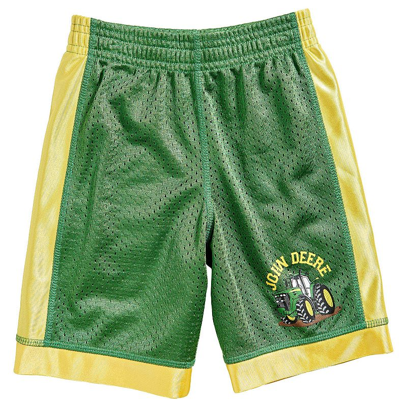 Boys 4-7 John Deere Tractor Mesh Shorts