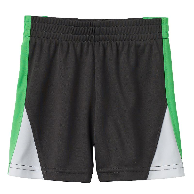 Baby Boy Jumping Beans® Play Cool Colorblock Mesh Performance Shorts