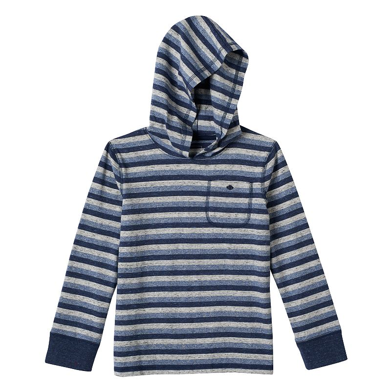 Boys 4-7x Jumping Beans® Striped Pocket Hoodie