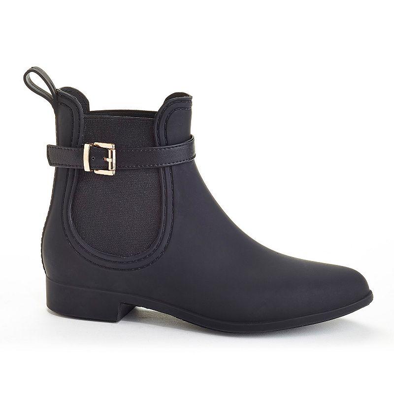 Henry Ferrera Clarity Sky Women's Water-Resistant Buckle Rain Boots