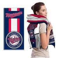 Minnesota Twins Cinch Bag & Beach Towel Set