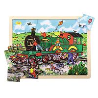 Bigjigs Toys 24-pc. Train Tray Puzzle