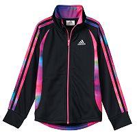 Girls 4-6x adidas Watercolor Full-Zip Score Keeper Jacket