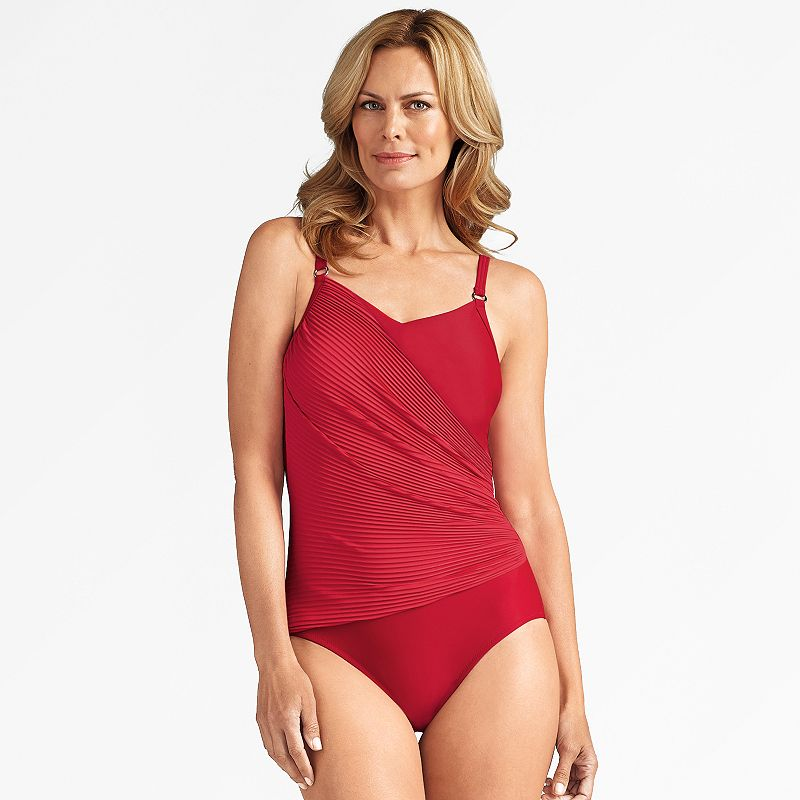 Women's Amoena Crossover One-Piece Swimsuit