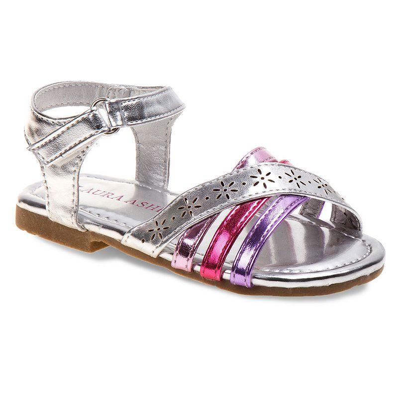 Laura Ashley Toddler Girls' Strappy Sandals