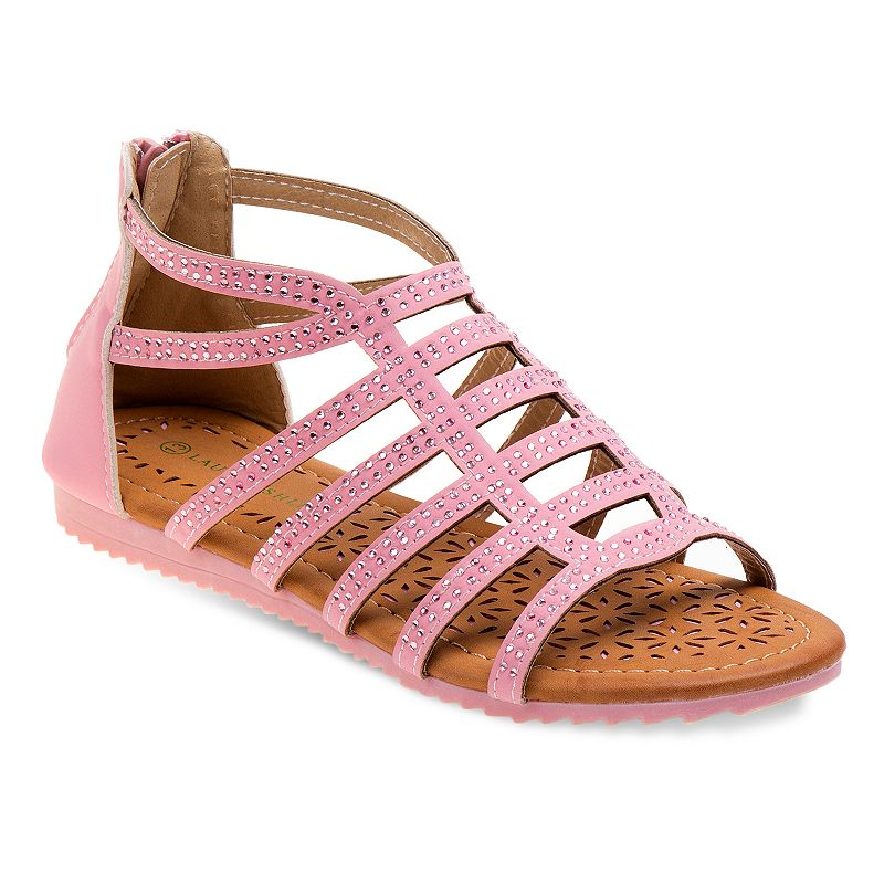 Laura Ashley Girls' Embellished Sandals