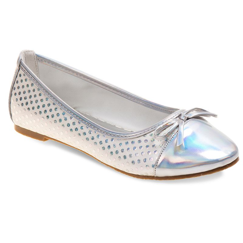 Laura Ashley Girls' Polka-Dot Ballet Flats