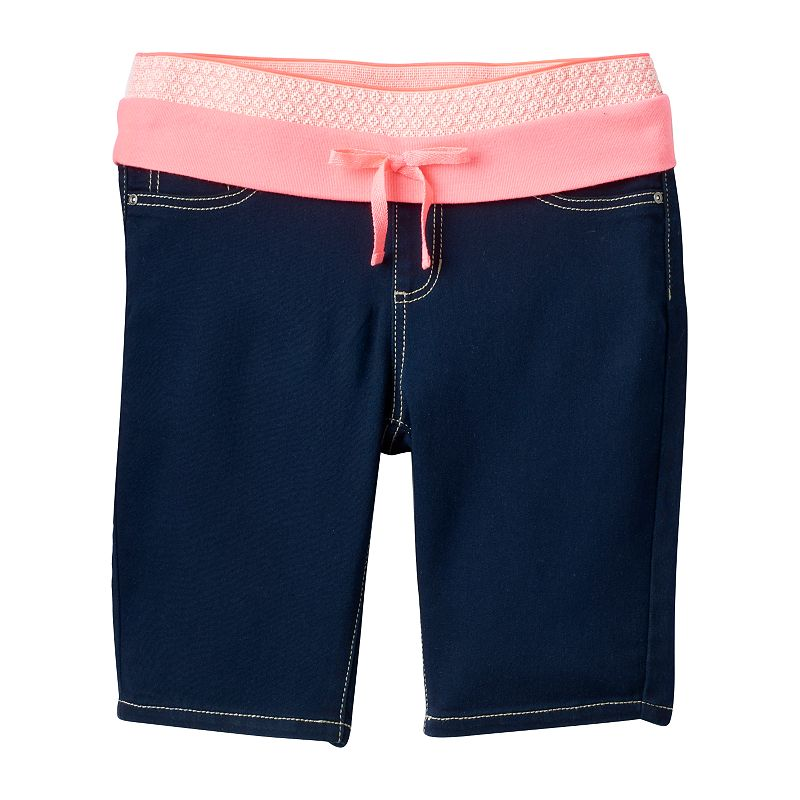 Girls' Plus Size Squeeze Knit Bermuda Shorts