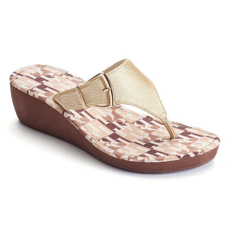 Dana Buchman Women's Signature Wedge Sandals