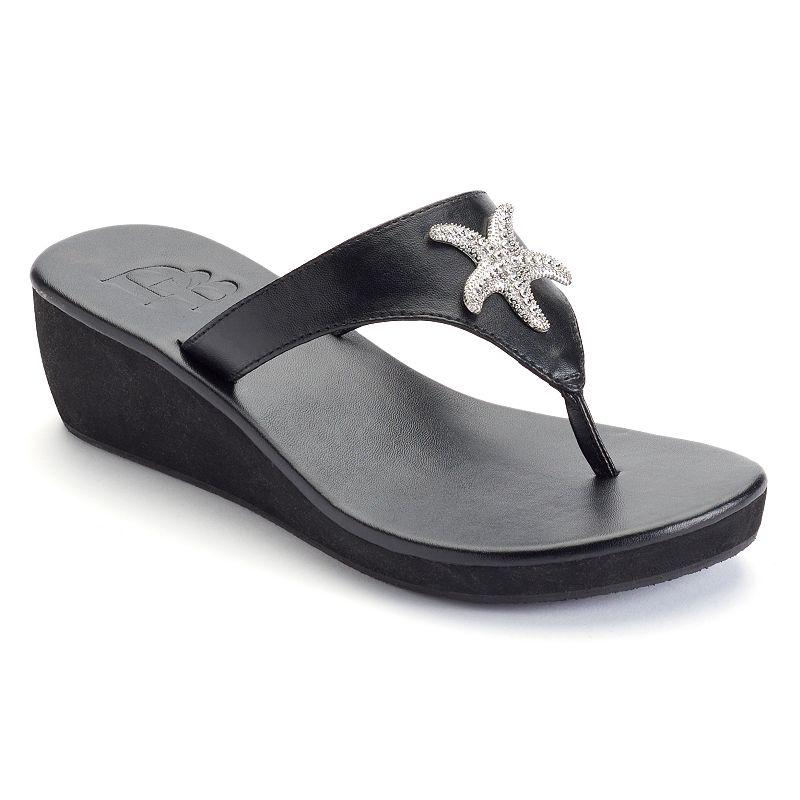 Dana Buchman Women's Starfish Wedge Sandals