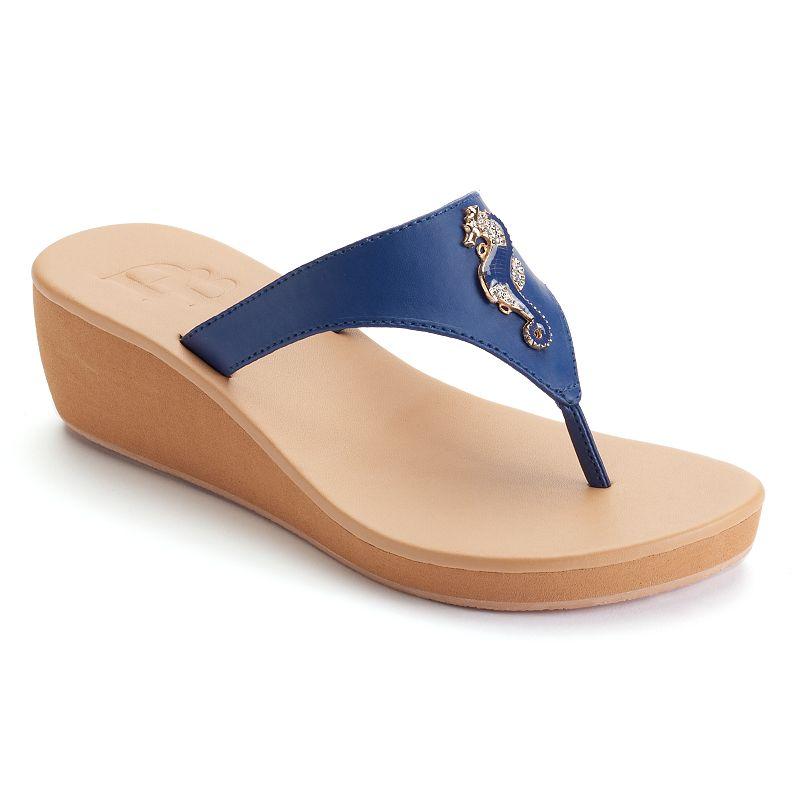 Dana Buchman Women's Seahorse Wedge Sandals