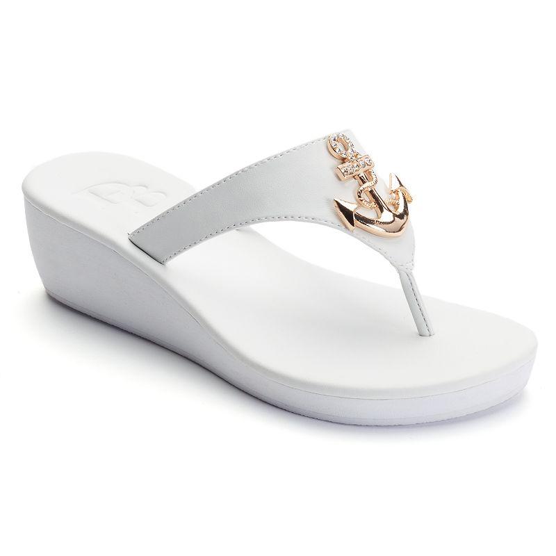 Dana Buchman Women's Anchor Wedge Sandals
