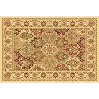 Rugs America New Vision Panel Framed Floral Rug