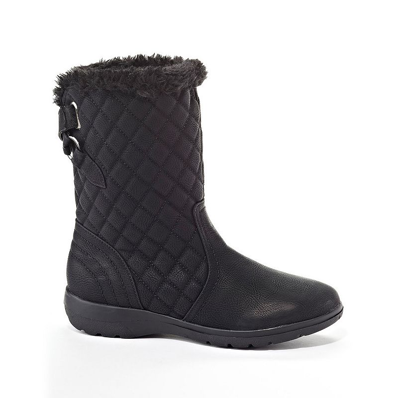 Henry Ferrera Brooks Women's Water-Resistant Quilted Winter Boots