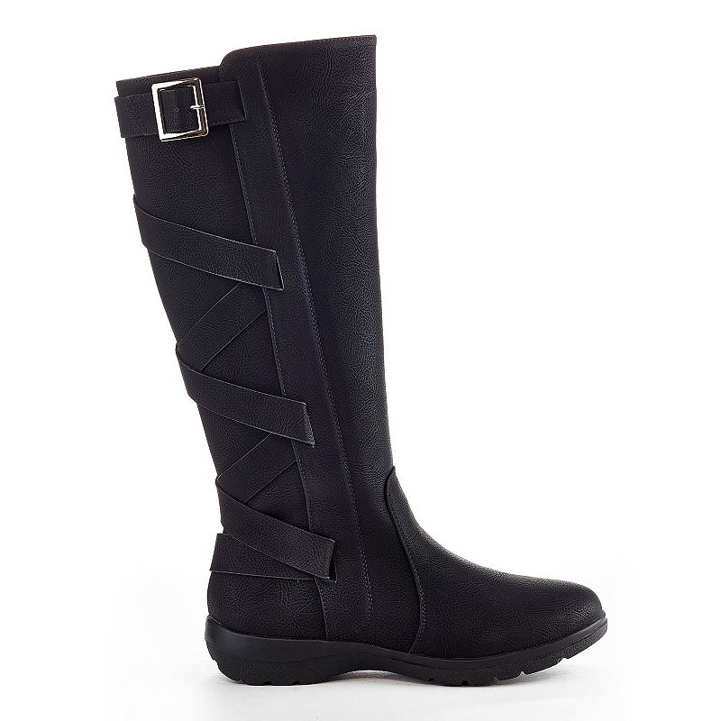 Henry Ferrera Brooks Women's Water-Resistant Strappy Winter Boots