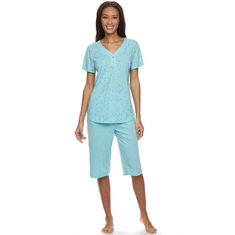 Women's Croft & Barrow® Pajamas: Relaxing Moments Pajama Set