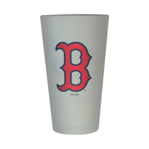Boston Red Sox Frosted Pint Glass