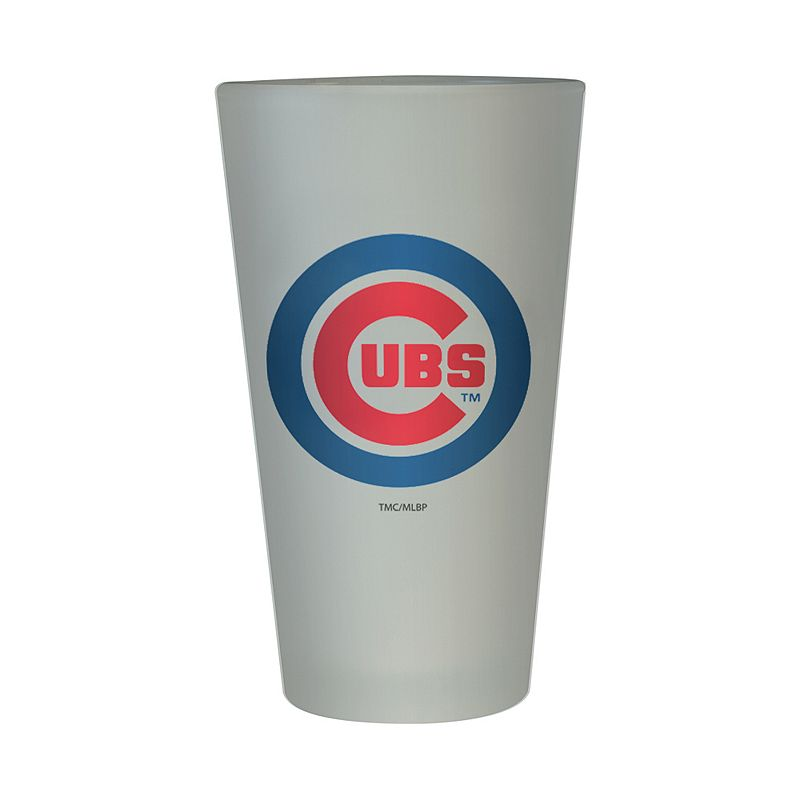 Chicago Cubs Frosted Pint Glass