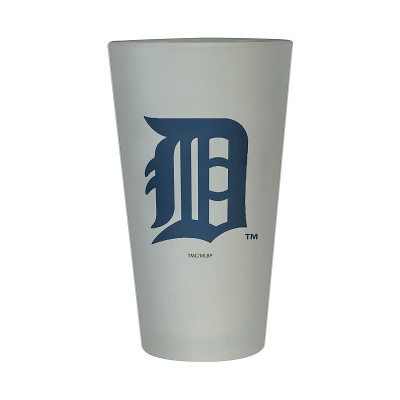 Detroit Tigers Frosted Pint Glass