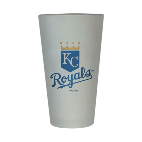 Kansas City Royals Frosted Pint Glass