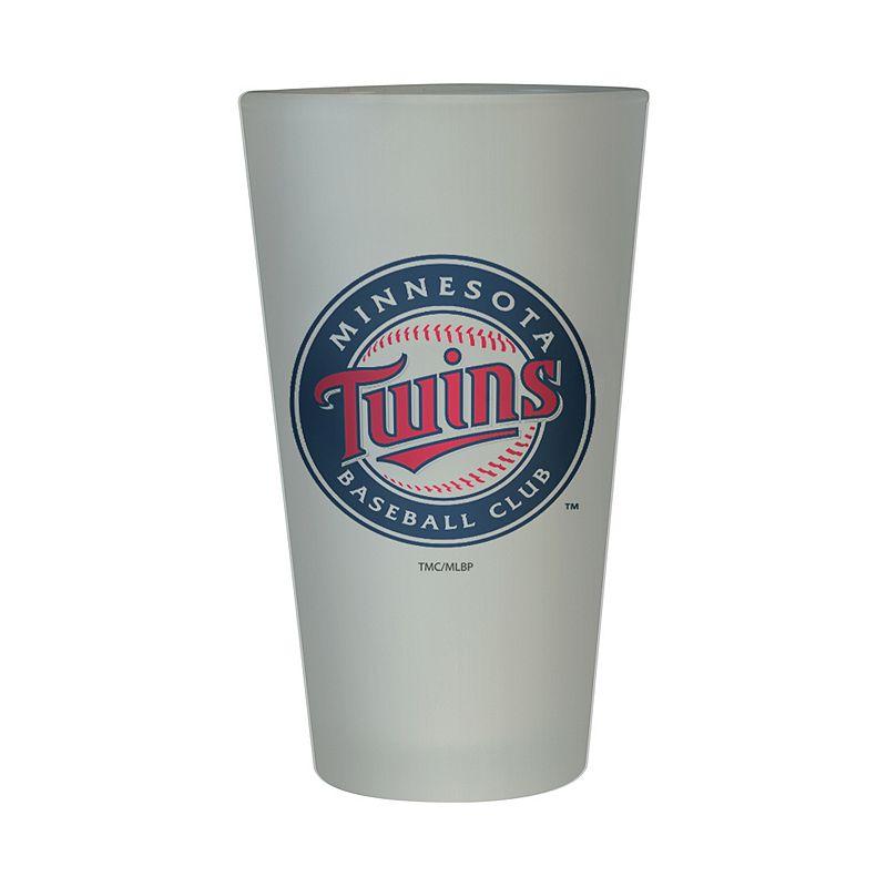 Minnesota Twins Frosted Pint Glass