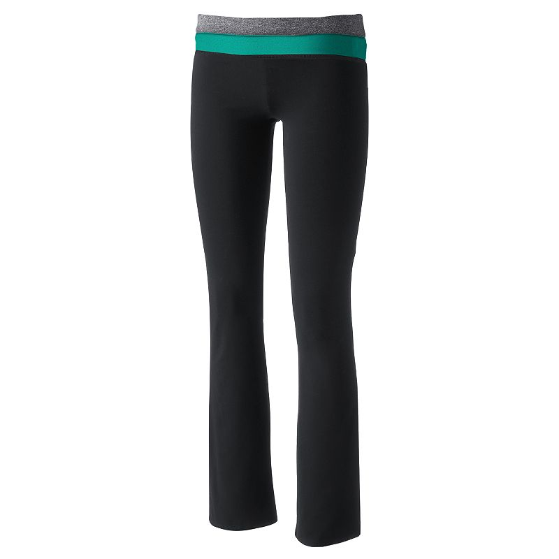 Juniors' SO® Wear Two Ways Bootcut Yoga Pants