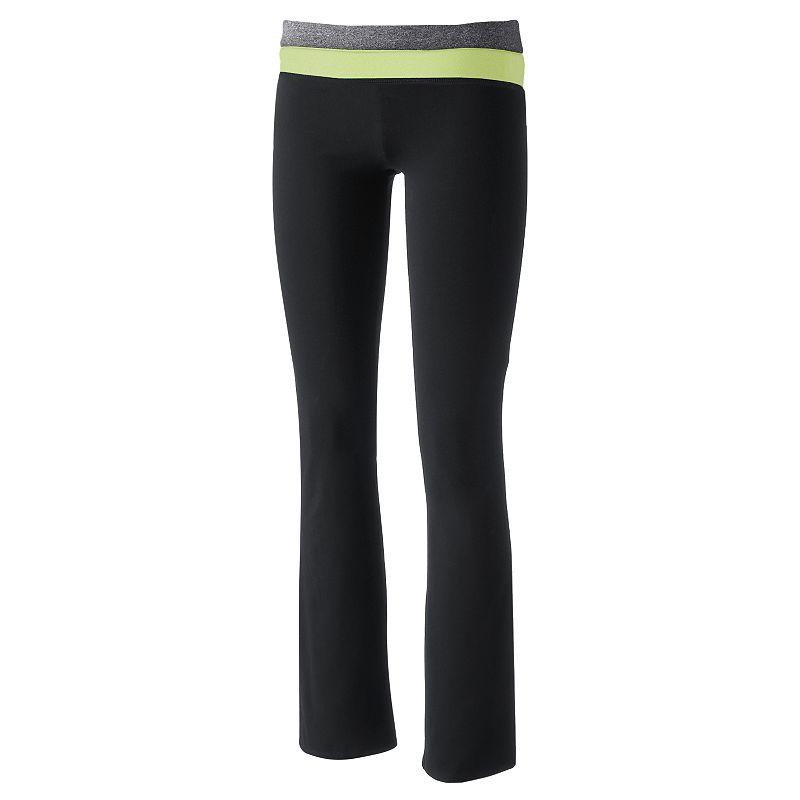 Juniors' SO® Wear Two Ways Bootcut Yoga Pants