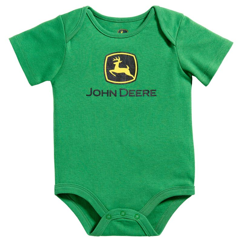 John Deere Logo Garage Stool Dealtrend