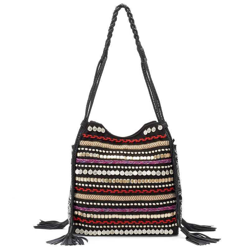 Big Buddha Briella Beaded Tote