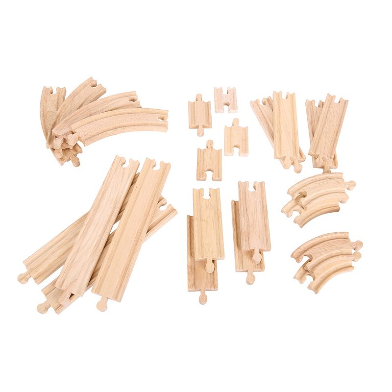 Bigjigs Toys Curves & Straights Expansion Pack