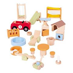 Bigjigs Toys House & Garden Doll Furniture
