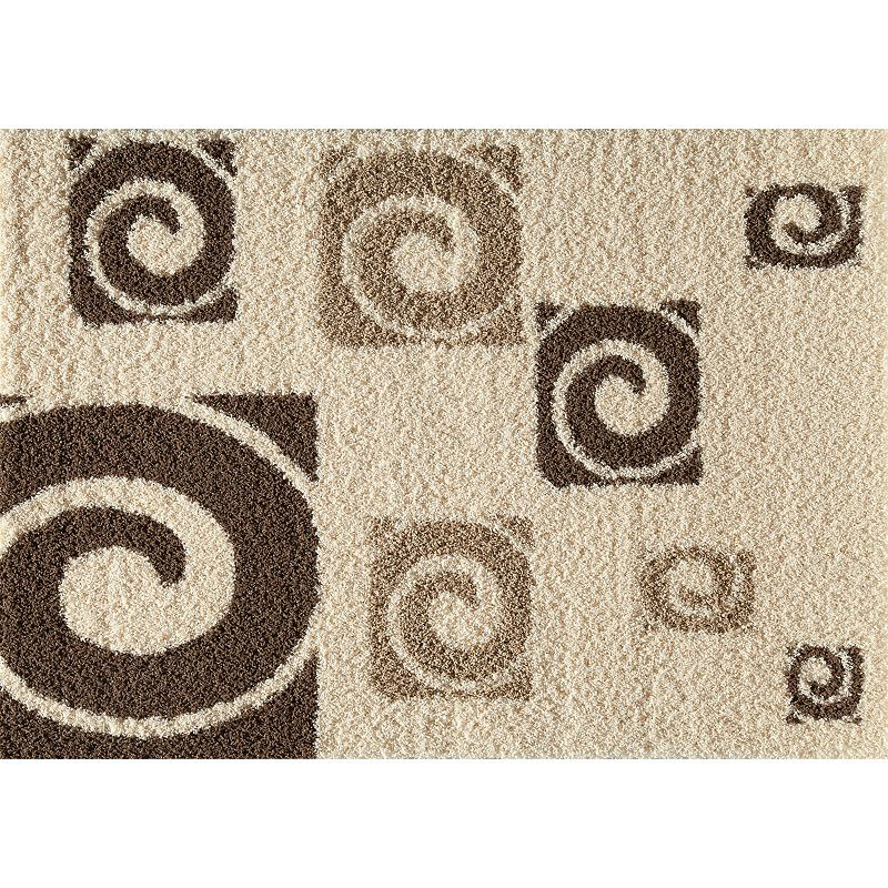 Rugs America Vero Beach Trade Winds Swirl Shag Rug