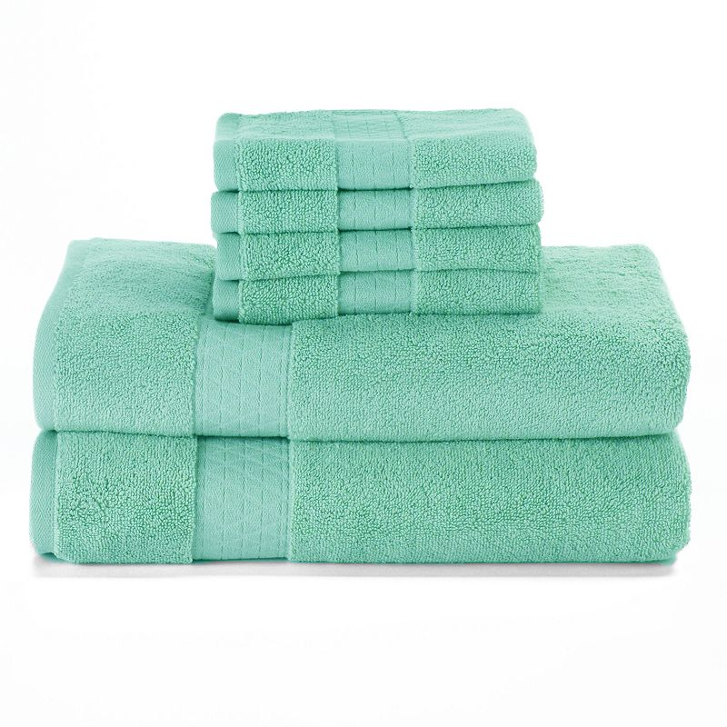 Simple By Design Solid 6-pack Towels