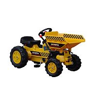 Dexton Pedal Tractor with Dumper Ride-On