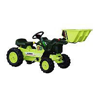 Dexton Pedal Tractor with Loader Ride-On