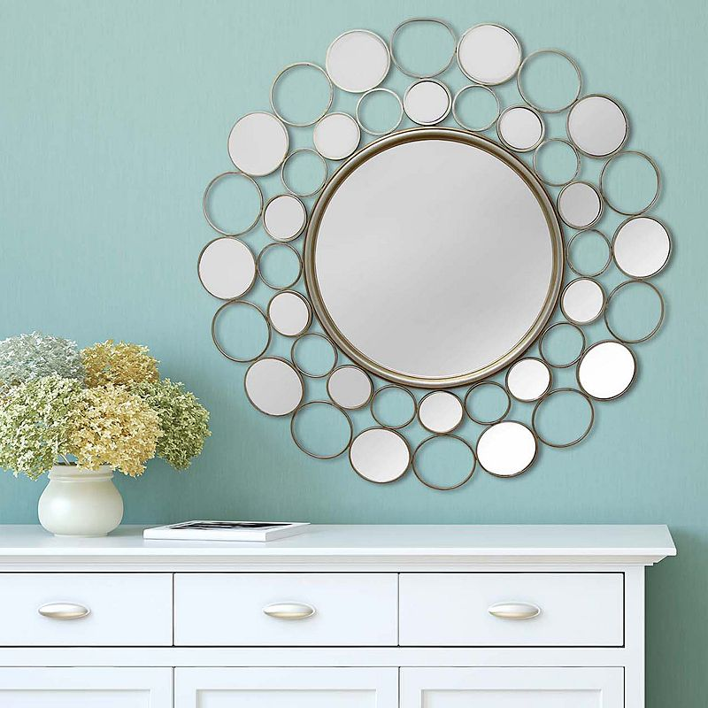 Stratton Home Decor Kimberly Wall Mirror
