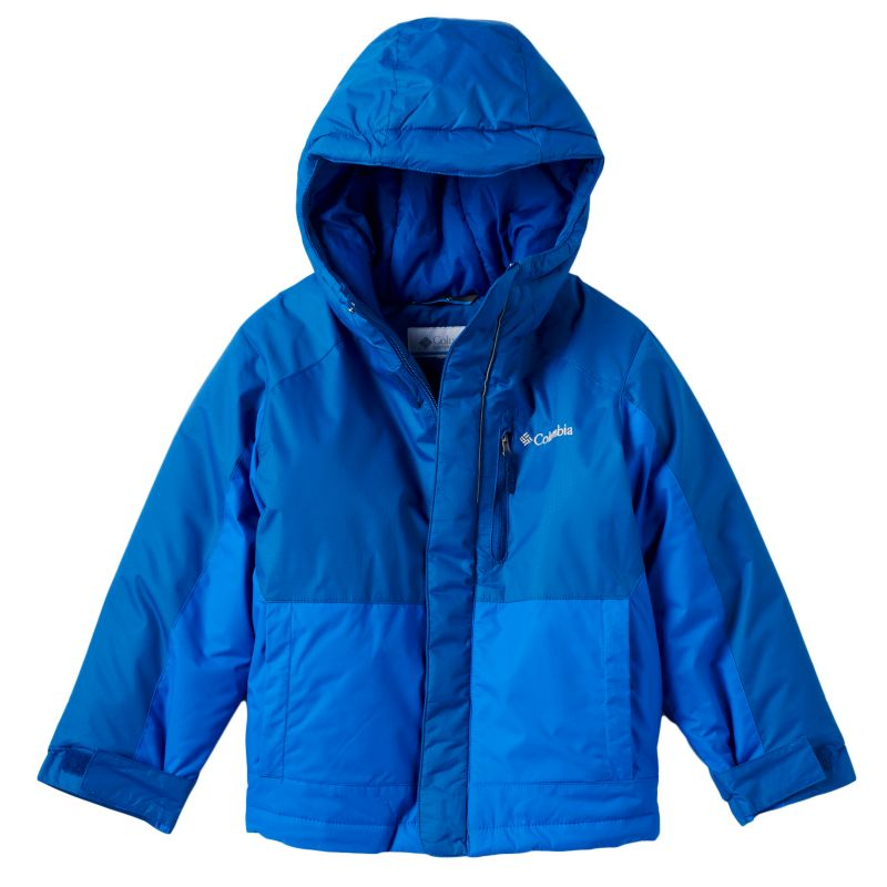 Boys 4-7 Columbia Heavyweight Hooded Jacket, Boy's, Size: 6-7, Turquoise\/Blue (Turq\/Aqua)