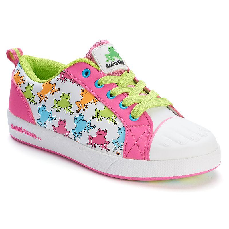 Bobbi-Toads Rhonda Kaze Girls' Paintable Sneakers