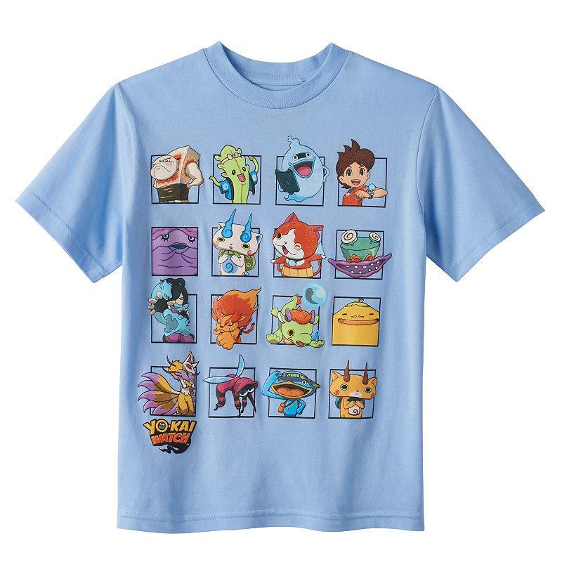 Boys 4-7 Yo-Kai Watch Blue Character Graphic Tee