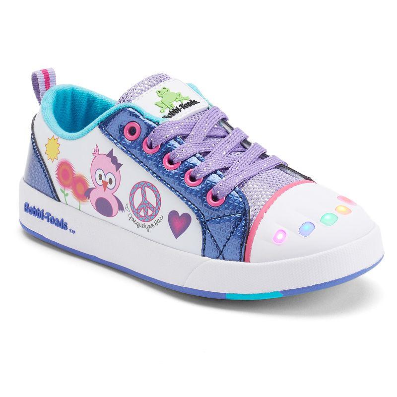Bobbi-Toads Staci Girls' Light-Up Sneakers