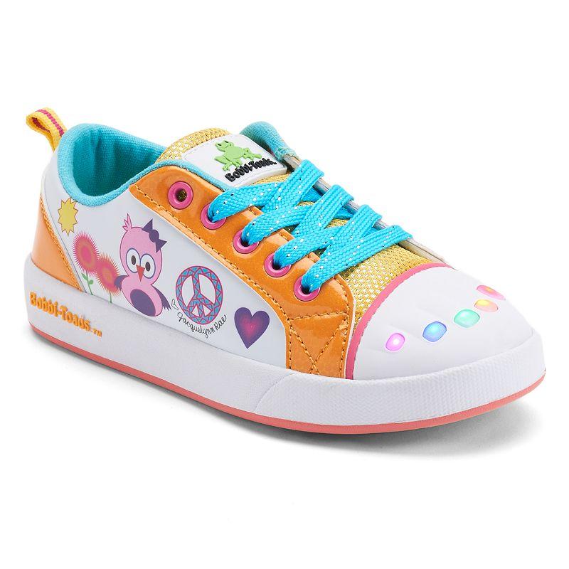 Bobbi-Toads Heatherz Girls' Light-Up Sneakers