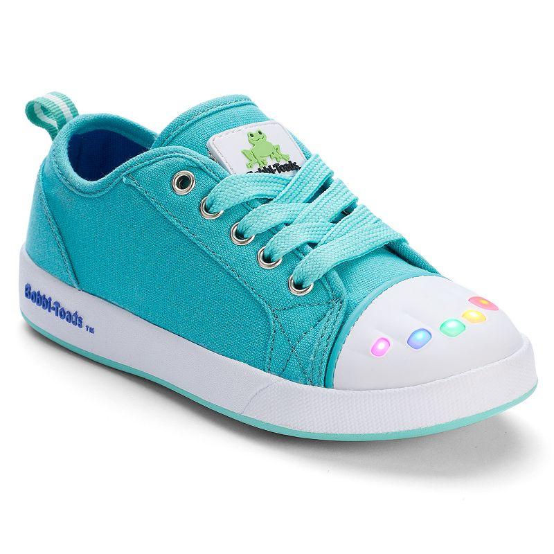 Bobbi-Toads Kelly Girls' Light-Up Sneakers